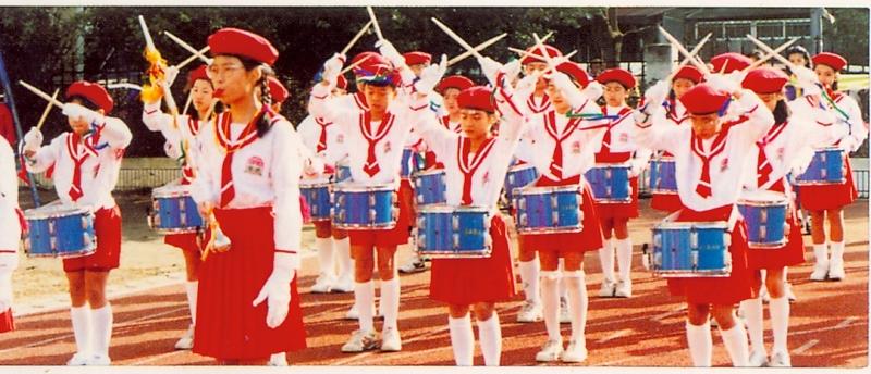 84學年鼓樂隊制服